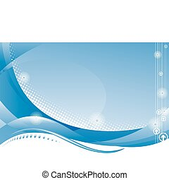 Abstract Digital Background - Website template of technology...