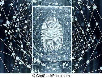 Biometrics concept