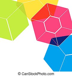 Abstract digital geometric flat background. With place for your message. Business or tech presentation, cover template Elegant background template design. Cover layout.