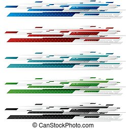 Abstract digital technology design on white background vector illustration