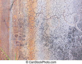 Abstract Dirty Wall