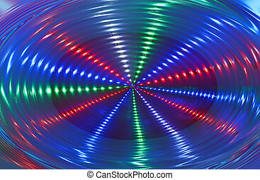 abstract disco light rotation, discotheque