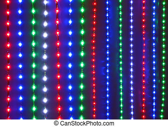 abstract disco lines background, discotheque diversity