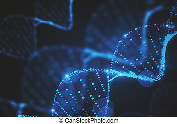 Abstract DNA texture