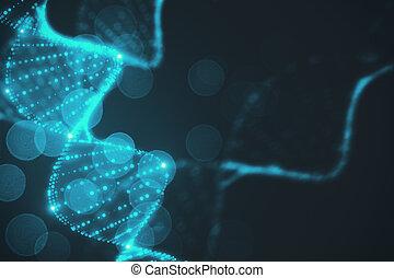 Abstract DNA wallpaper