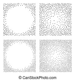 Abstract Dot work Backgrounds