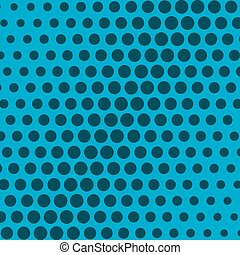 abstract dots background in blue color