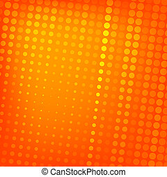 Abstract dotted orange background texture