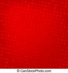 Abstract dotted red background texture