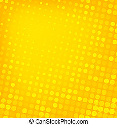 Abstract dotted yellow background texture