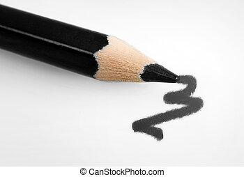 Abstract drawing black