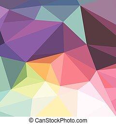 abstract, driehoek, kleurrijke, achtergrond, geometrisch
