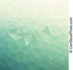 abstract, driehoeken, model, achtergrond, -, eps10, vector