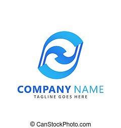 Abstract  Drop Company Logos Design Vector Illustration Template