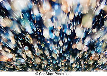 Abstract dynamic background