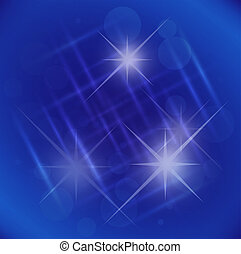Abstract elegance blue background