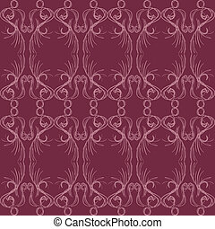 Abstract Elegant Seamless Pattern