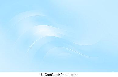 Abstract elegant wavy background - Abstract elegant light...