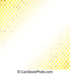 Abstract Yellow Mosaic Pattern