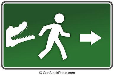 abstract emergency sign - abstract emergency sing in case of...
