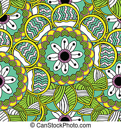 Abstract Endless Seamless Pattern
