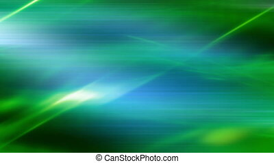 Abstract Energy Flow in Blue Green
