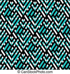 Op art seamless geometric background