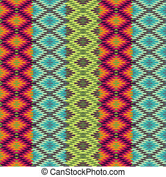 Abstract ethnic pattern - 1