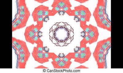 Abstract Ethnic pattern kaleidoscop