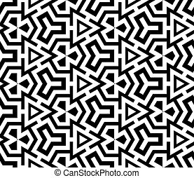 abstract ethnic vector seamless background