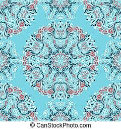 abstract, ethnische , achtergrond, seamless, pattern.