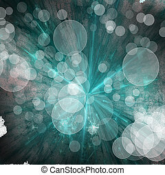 abstract explosion dark turquoise