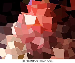 Abstract expressionism, fantastic grey and red pink precious...