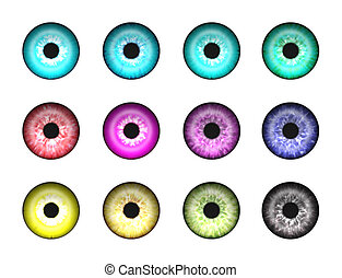 Abstract eyes 1