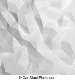 Abstract faceted geometric pattern