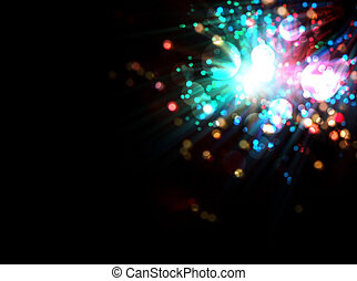 abstract fantasy firework