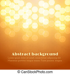 Abstract Festive Background with Bokeh