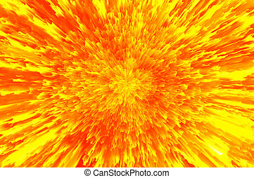 Abstract fiery background. Golden background.