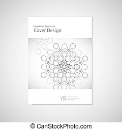 Abstract figure. Vector concept