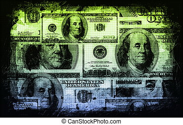 abstract, financiën, zakelijk