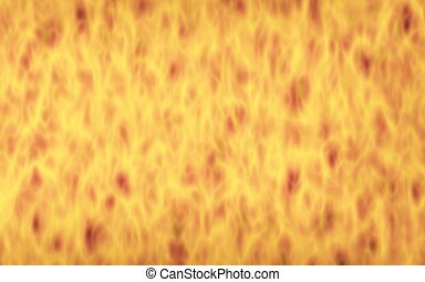Abstract Fire Background with Flames. Wall of Fire