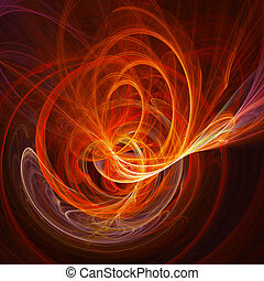 chaos spiral rays