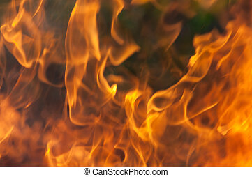 flame - Abstract fire, flame background.