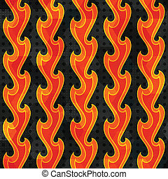 abstract fire seamless