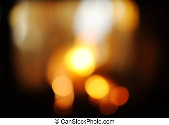 fireplace flame background - abstract fireplace flame...