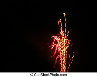 Abstract Fireworks 1