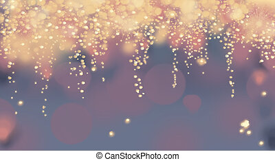 Abstract Fireworks Background