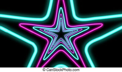 """Abstract Five Pointed Star Tube"""