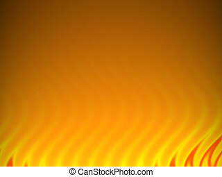 Abstract Flames Backdrop - An illustration of some faded...