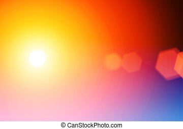 Abstract flare background